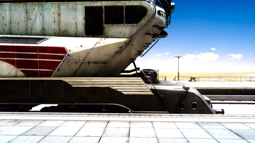 ファイナルファンタジーXV FinalfantasyXV プレイ日記 攻略 途中下車の旅 車両の中 カスナティカ駅採集 マップ MAP アイテム:トレジャー スポット