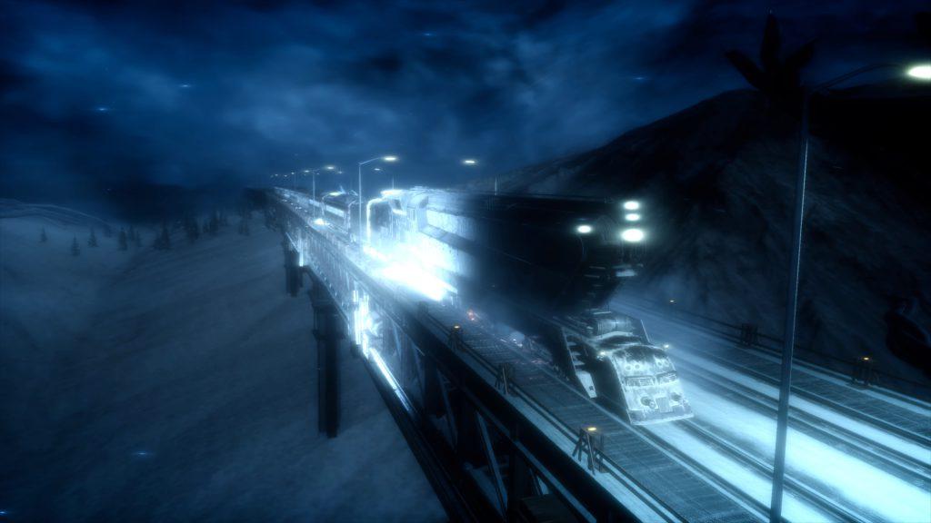 ファイナルファンタジーXV FinalfantasyXV プレイ日記 攻略 極寒の渓谷へ 列車 採集 マップ MAP アイテム:トレジャー スポット