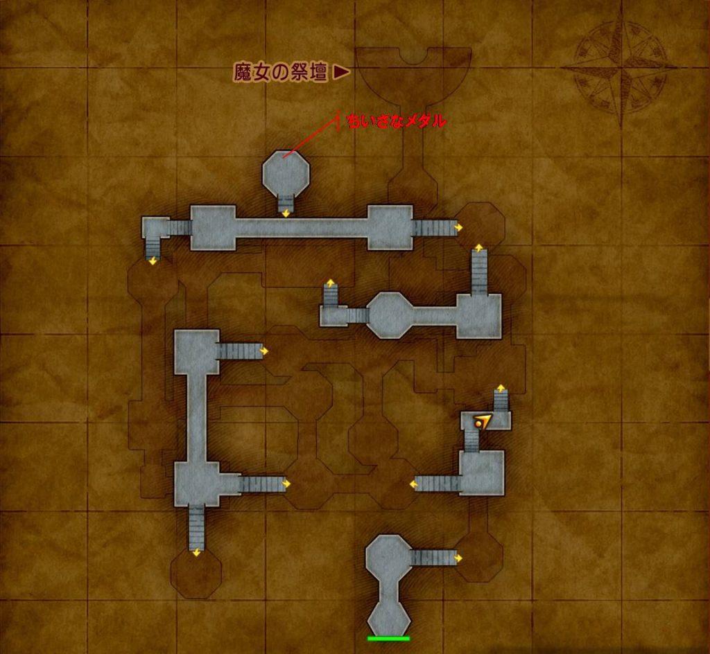 ゲーム ドラゴンクエスト11 ドラクエ11 XI アイテム 宝箱 採集 収集 MAP 取得 場所 メダチャット地方 プチャラオ村 壁画世界 プラチナトレイ ちいさなメダル せいれいせき ようせいの首飾り ギガ・ひとくいばこ